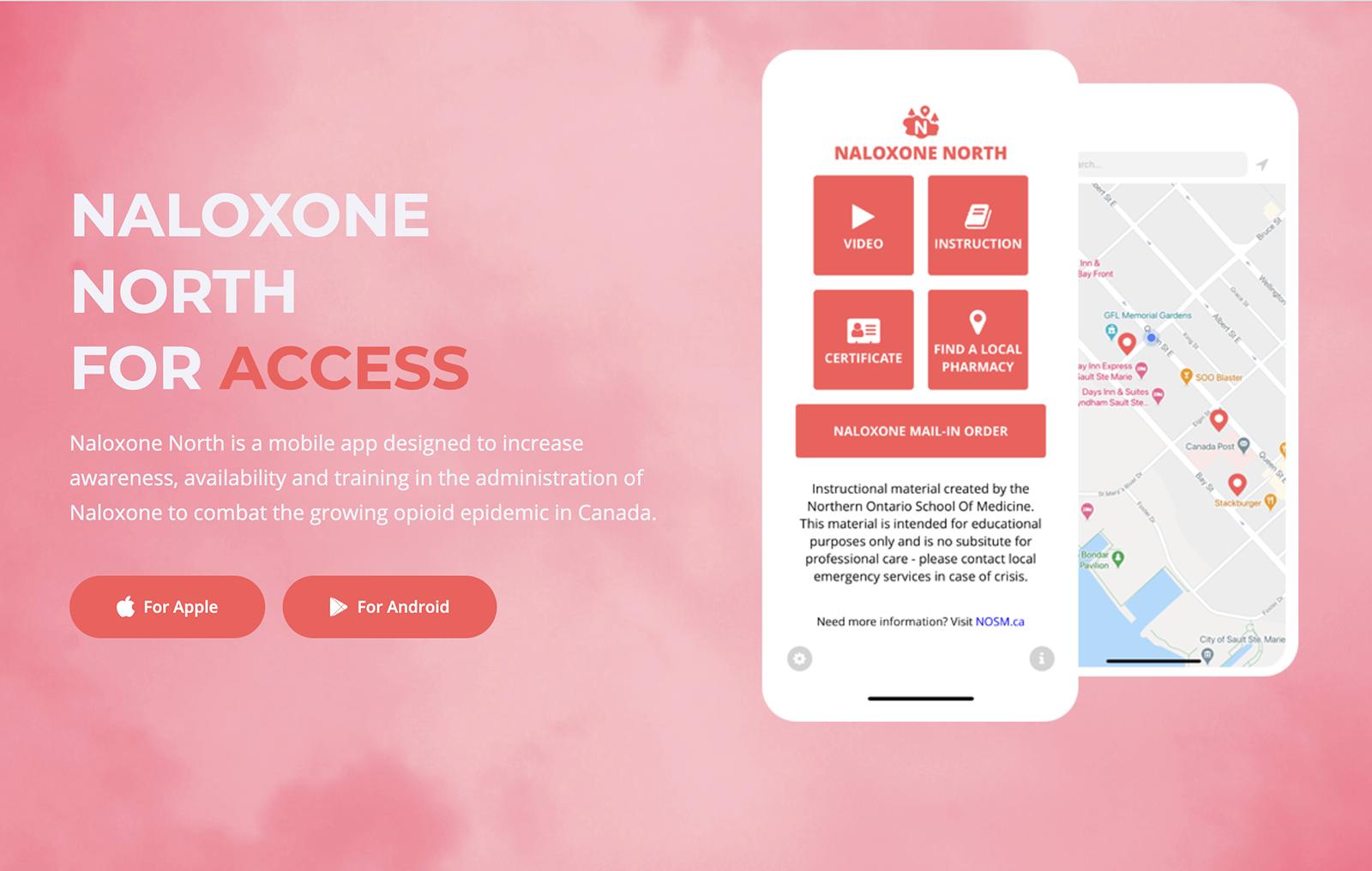 Naloxone North App
