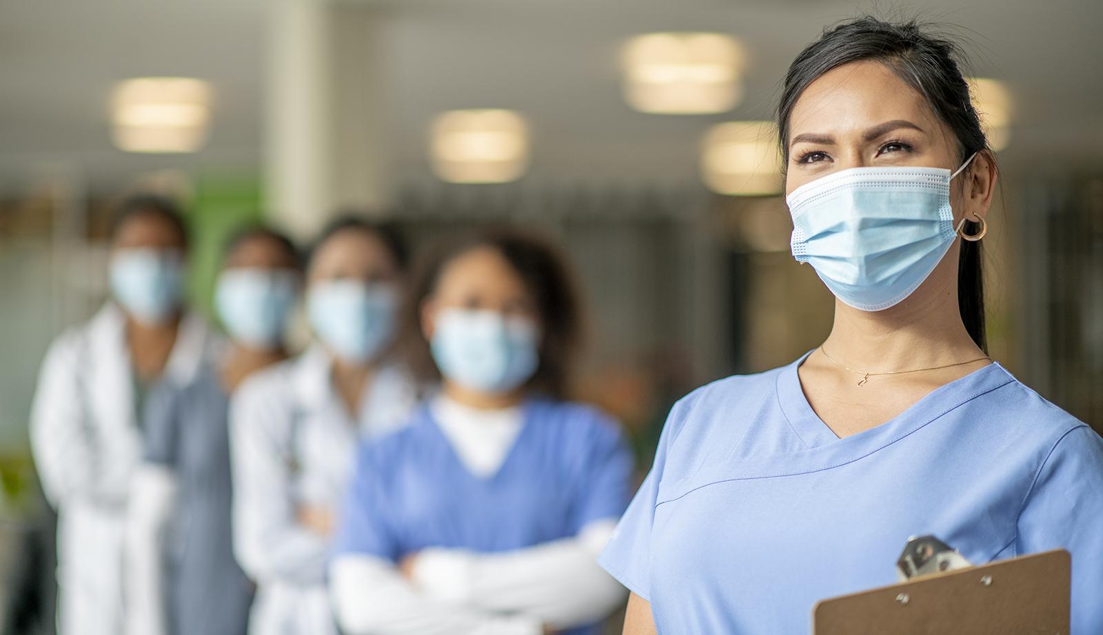Healthcare workers portrait